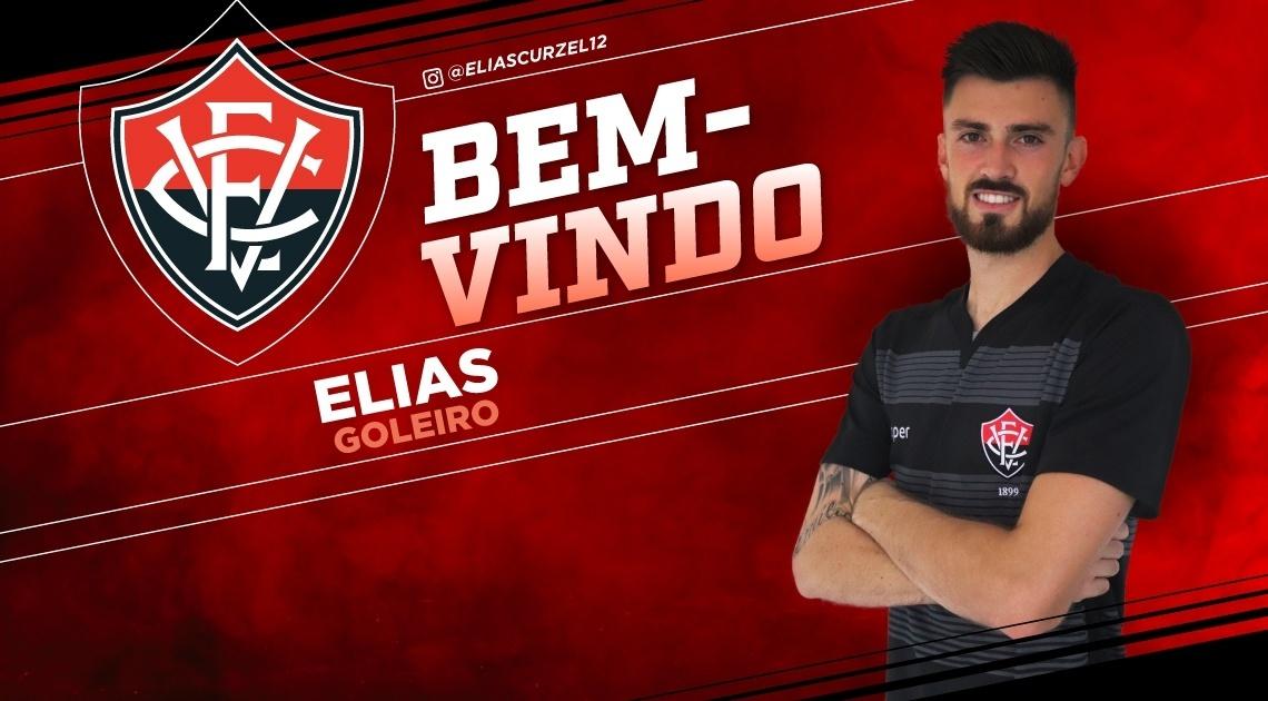 Elias, novo goleiro do Vitória