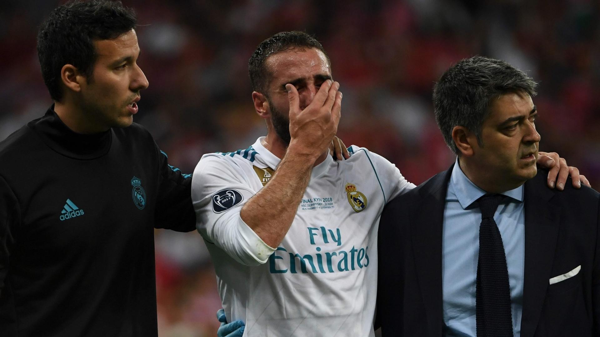 Carvajal Real Madrid choro