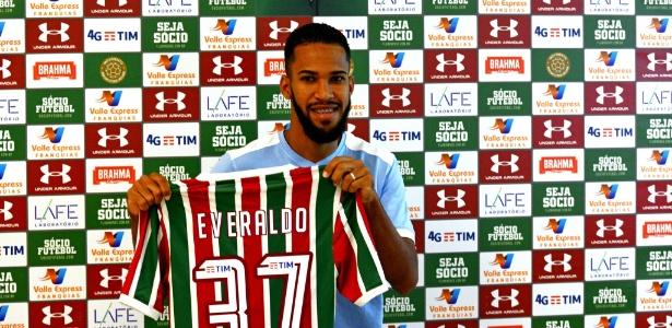 Everaldo vestiu a camisa do Fluminense - Mailson Santana / Fluminense FC