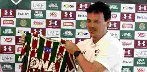 Fernando Diniz comanda o Fluminense - MAILSON SANTANA/FLUMINENSE FC - MAILSON SANTANA/FLUMINENSE FC