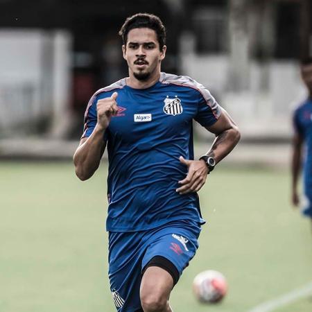 Lucas Veríssimo despertou interesse de Jesus e pode estar de saída do Santos - Ivan Storti/Santos FC