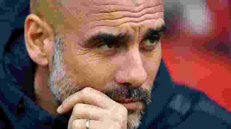 Pep Guardiola, técnico do Manchester City - Dylan Martinez/Reuters - Dylan Martinez/Reuters