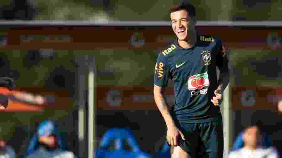 Philippe Coutinho está com a seleção brasileira para disputar a Copa América - Lucas Figueiredo/CBF