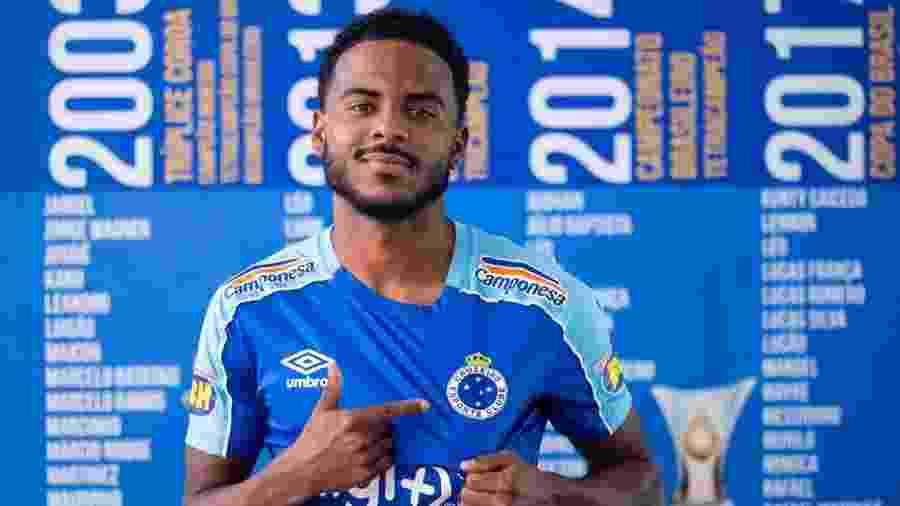 Atacante será apresentado hoje à imprensa, e será trabalhado para ficar à disposição para o jogo contra o Grêmio - Cruzeiro/Divulgação