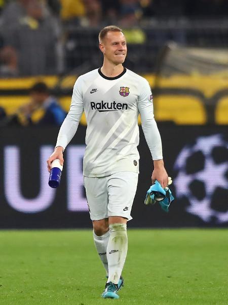 O goleiro Ter Stegen, do Barcelona - Martin Rose/Bongarts/Getty Images