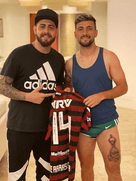 De Arrascaeta faz tatuagem da taça Libertadores - Reprodução/Instagram