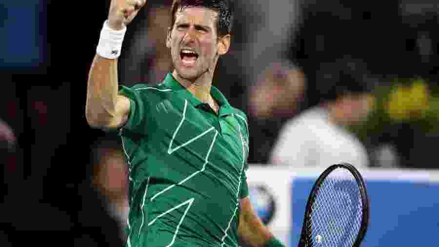Novak Djokovic acredita que será o maior vencedor do Grand Slam e pretende ter longevidade no esporte - Amin Mohammad Jamali/Getty Images