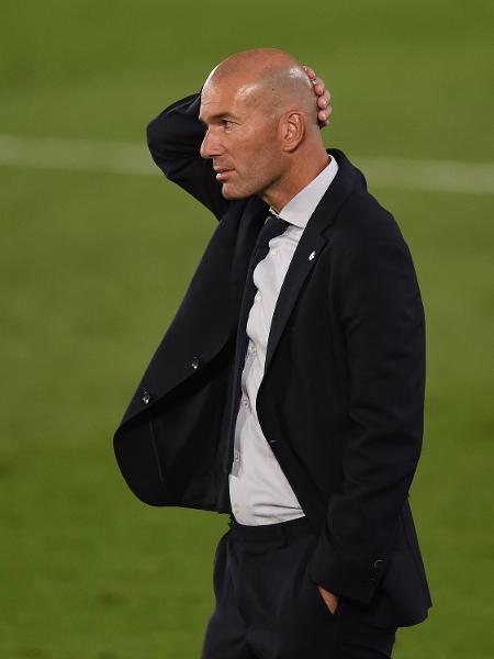 Zinedine Zidane, técnico do Real Madrid - Denis Doyle/Getty Images