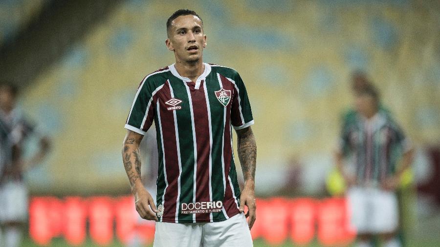 Dodi é um dos destaques do Fluminense em 2020, mas ainda não renovou contrato - JORGE RODRIGUES/ESTADÃO CONTEÚDO