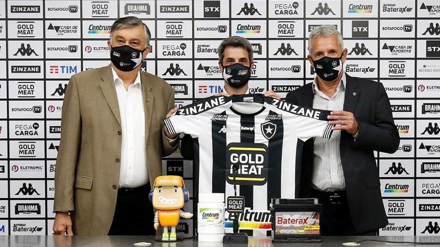 Eduardo Freeland é apresentado como novo diretor de futebol do Botafogo - Vitor Silva/Botafogo