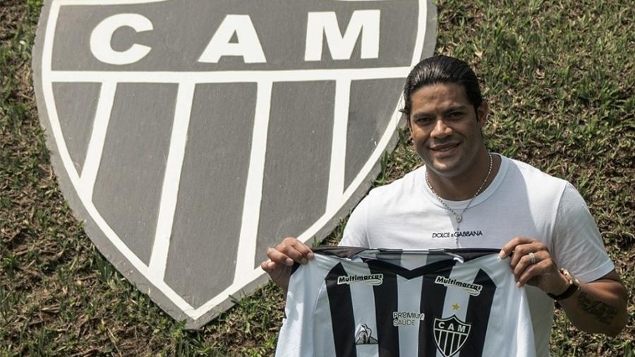 Atlético-MG publica foto de Hulk com camisa do clube na Cidade do Galo  - Reprodução/Twitter