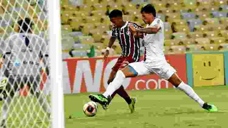 Kayky fez sua estreia como profissional pelo Fluminense contra o Resende - Mailson Santana/Fluminense FC - Mailson Santana/Fluminense FC