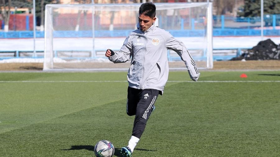 Fabrício Oya assinou contrato de dois anos com o Torpedo Zhodino, de Belarus  - Victor Glushko - Torpedo Zhodino