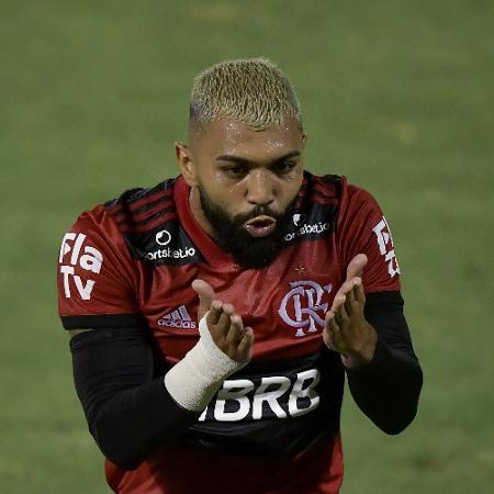 Gabigol, em ação pelo Flamengo - Thiago Ribeiro/AGIF