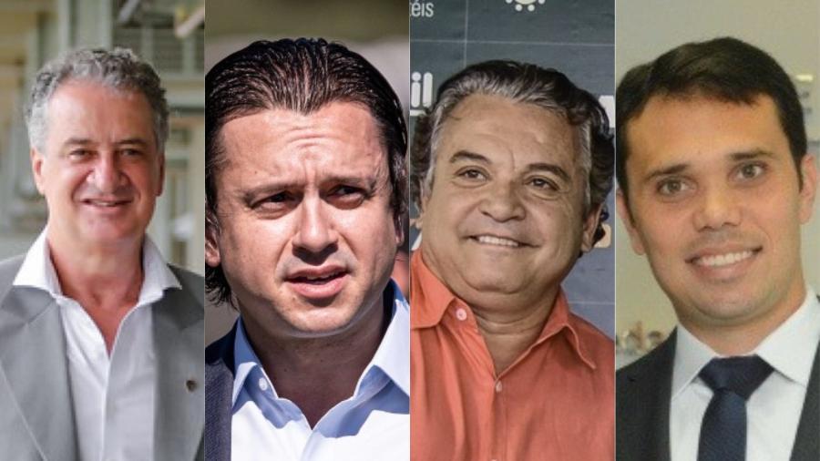 Presidentes de Atlético-MG, Cruzeiro, América-MG e FMF mostraram apoio ao presidente da CBF antes de escândalo - Bruno Cantini, Mourão Panda, Bruno Haddad e FMF