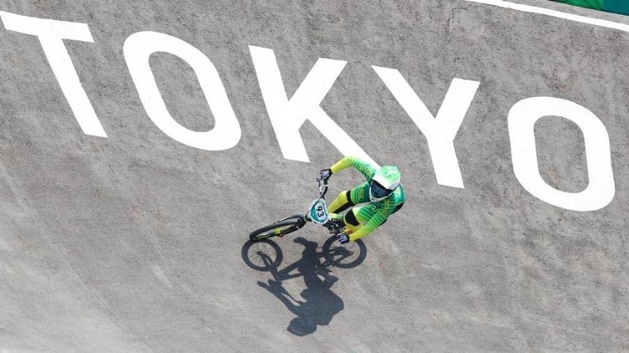 Priscilla Stevaux termina em sexto e para nas quartas do ciclismo BMX - Wander Roberto/COB