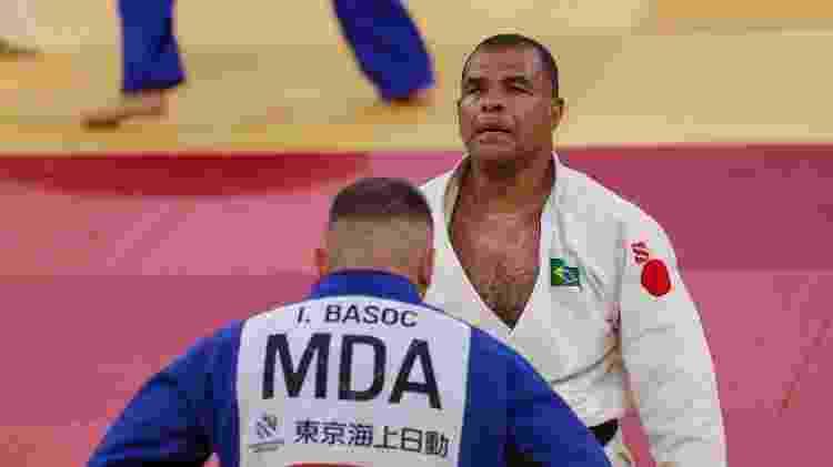 Antônio Tenório, durante luta nas Paralimpíadas de Tóquio - Matsui Mikihito/CPB - Matsui Mikihito/CPB