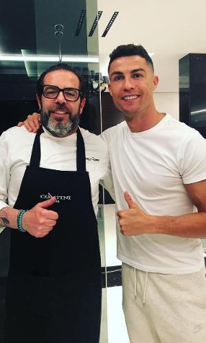 Giorgio Barone foi chef de cozinha de Cristiano Ronaldo durante passagem do craque pela Juventus