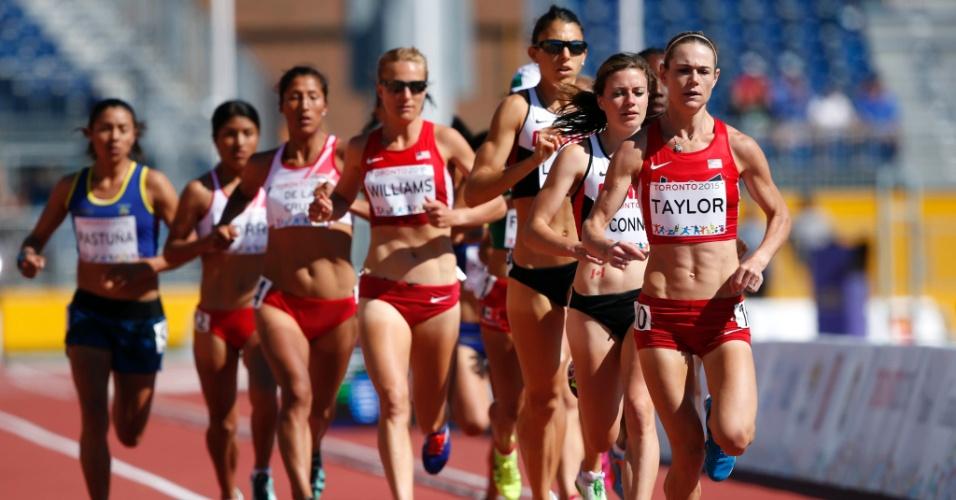 Prova dos 5.000m feminino abre o primeiro dia do atletismo em pista. Brasileira Juliana dos Santos conquistou o ouro