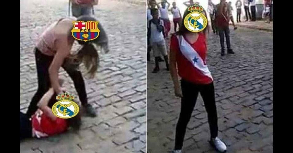 Real Madrid é massacrado por Barcelona e sofre com brincadeiras na web
