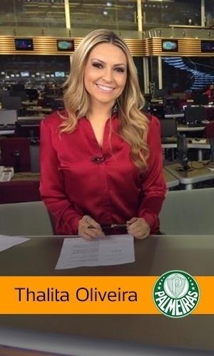 Thalita Oliveira (Record): Palmeiras