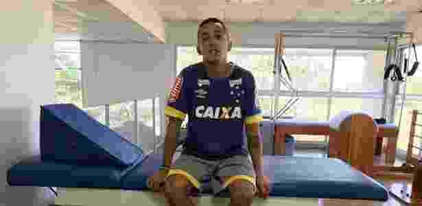 Em seu melhor momento no clube, Rafinha sofre lesão e só voltará no ano que vem - Divulgação/Cruzeiro