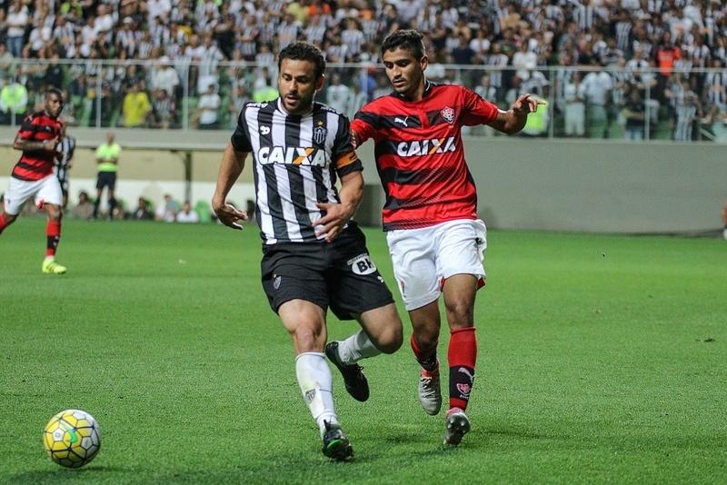 Fred já foi capitão do Atlético-MG uma vez, contra o Vitória