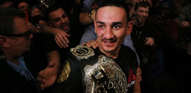 Max Holloway está invicto há dez lutas dentro do UFC - Vaughn Ridley/Getty Images/AFP