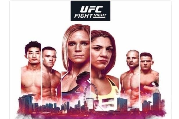 O UFC Singapura será realizado no dia 17 de junho