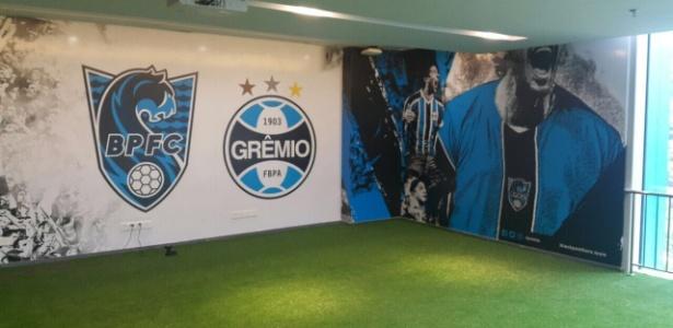 Grêmio tem parceria com time local e coordena escolas para crianças de 5 a 10 anos
