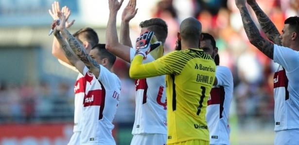 Jogadores do Internacional buscam tranquilidade para recuperação na Série B