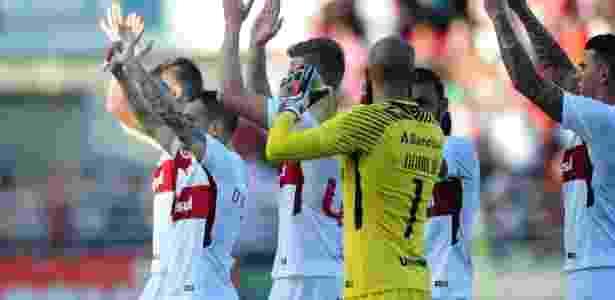 Jogadores do Internacional buscam tranquilidade para recuperação na Série B - Ricardo Duarte/SC Internacional