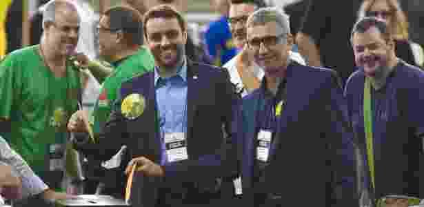 Chapa de Julio Brant e Alexandre Campello havia vencido eleição do ano passado - Thiago Ribeiro/AGIF