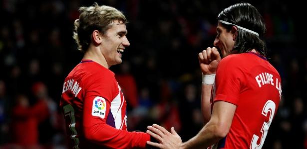 Filipe Luís crê em permanência de Antoine Griezmann no Atlético de Madri
