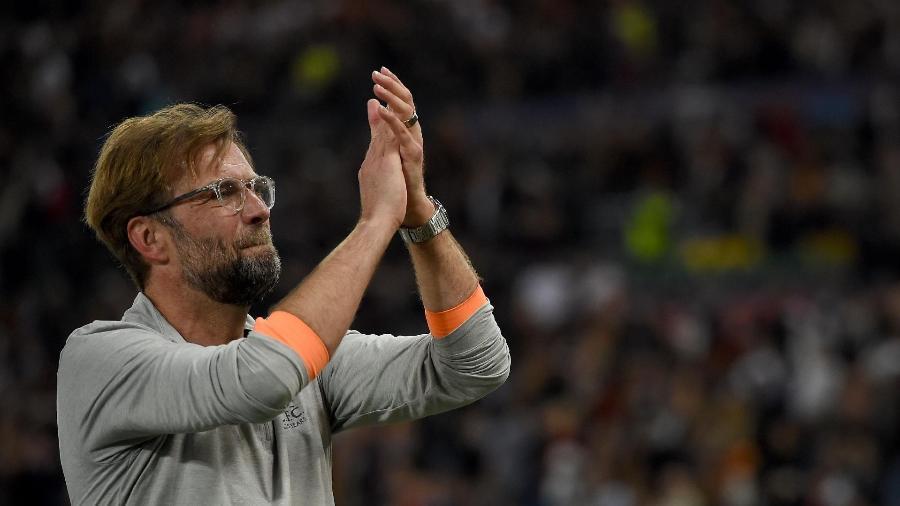 Desde 2015 no Liverpool, Klopp ainda não conquistou nenhum título - Paul Ellis/AFP