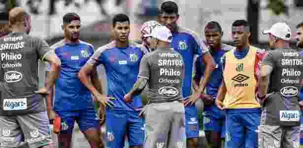 Agrado foi uma solicitação do técnico após vitória sobre o São Paulo - Ivan Storti/SantosFC