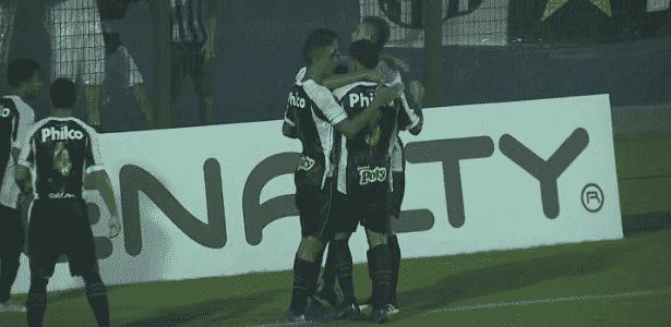 Meia Lucas Lourenço brilhou na partida participando com assistências a gol - Reprodução