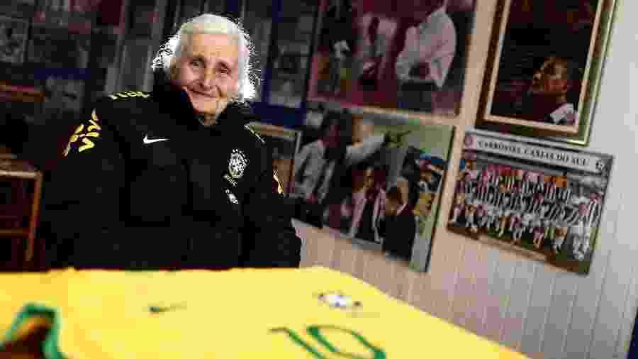 Ivone Bachi morreu hoje, em Caxias do Sul (RS), aos 83 anos de idade - FÁBIO MOTTA/ESTADÃO CONTEÚDO