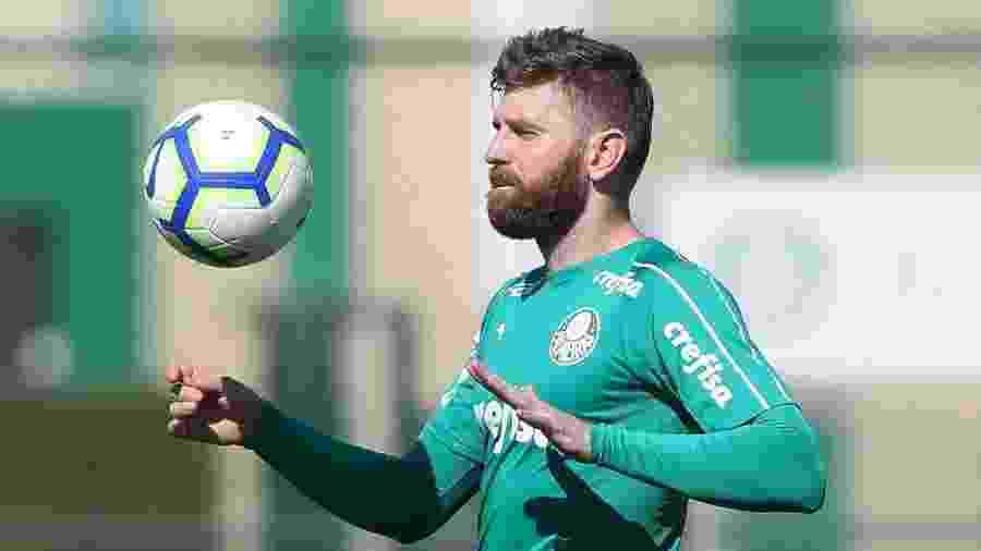 Fabiano foi cedido ao Boavista, de Portugal, por um ano - Cesar Greco/Ag. Palmeiras/Divulgação