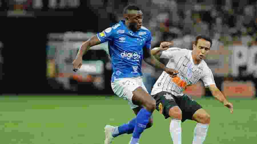 Atacante Joel, em atuação pelo Cruzeiro - Daniel Vorley/LightPress/Cruzeiro