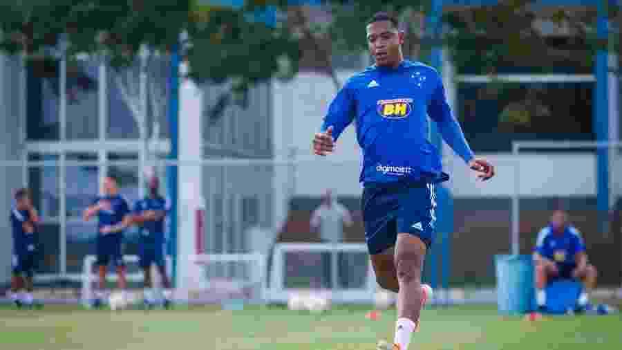 Atacante David, do Cruzeiro, tenta a rescisão contratual por meio da justiça do trabalho - Vinnicius Silva/Cruzeiro
