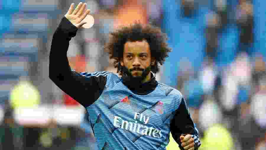 Marcelo seria negociado por 16 milhões de euros pelo Real Madrid, mas salário é valor alto para times italianos - Juan Medina/Reuters
