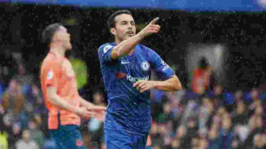 Pedro deve trocar o Chelsea pela Roma, segundo a imprensa da Espanha - Stephanie Meek/CameraSport