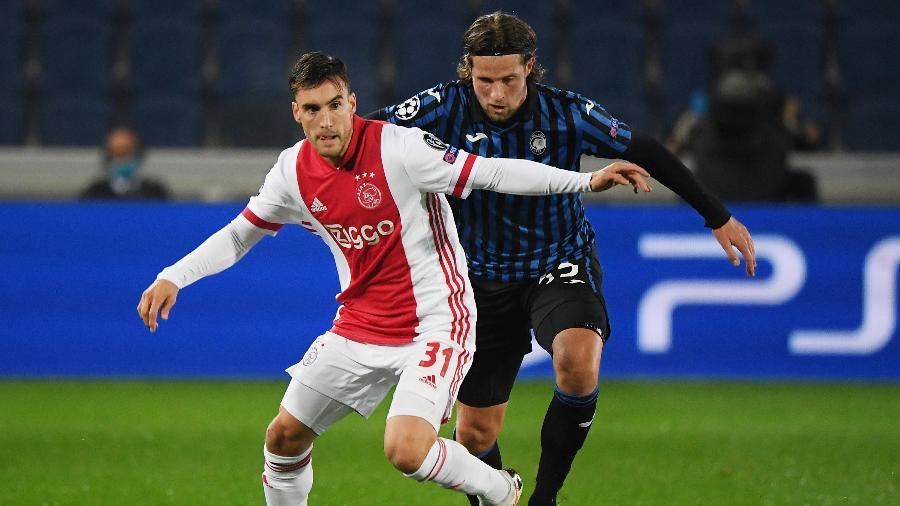 Atalanta e Ajax se enfrentam pela Liga dos Campeões - Alberto Lingria/Reuters
