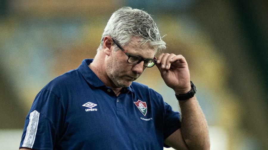 Odair Hellmann deixará o Fluminense rumo ao Al-Wasl, dos Emirados Árabes -  MAURICIO ALMEIDA/AM PRESS & IMAGES/ESTADÃO CONTEÚDO
