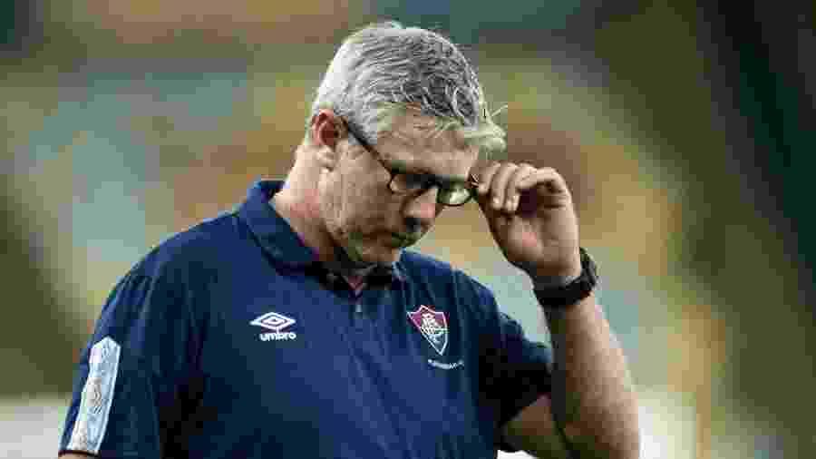 Odair Hellmann tem problemas para armar Fluminense na ausência de Fred no Brasileirão -  MAURICIO ALMEIDA/AM PRESS & IMAGES/ESTADÃO CONTEÚDO