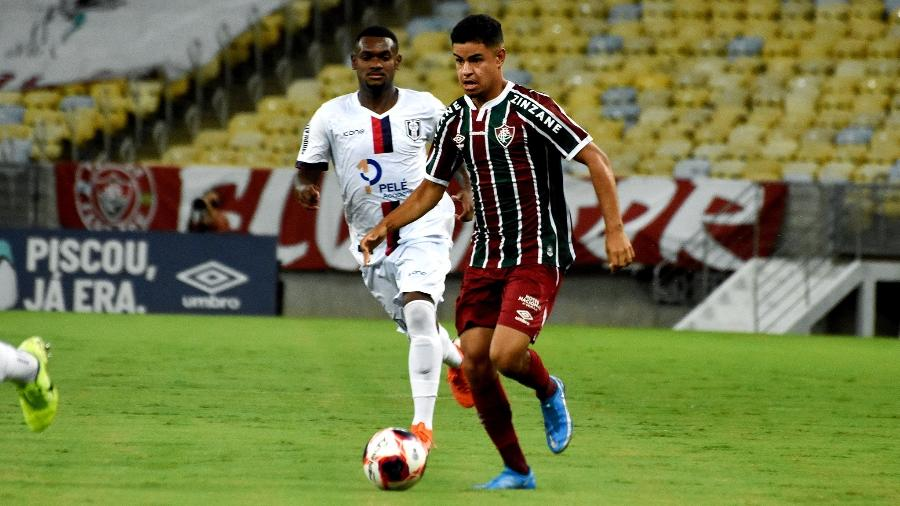 Pai de jovem Miguel, de apenas 18 anos, tenta desvincular filho do Fluminense via Justiça do Trabalho - Mailson Santana/Fluminense FC