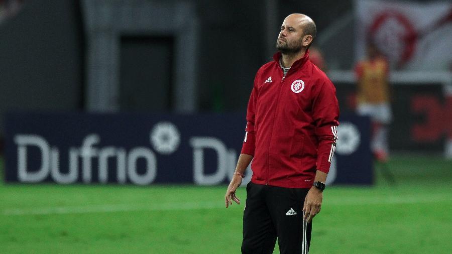 Miguel Ángel Ramírez deixou o comando técnico do Inter após três meses no cargo - Fernando Alves/AGIF