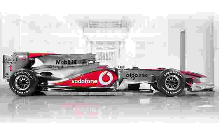 mp4-25 - Divulgação/McLaren - Divulgação/McLaren