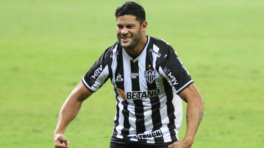 Hulk é o artilheiro do Galo na temporada com 16 gols e ainda deu nove assistências para seus companheiros - FERNANDO MORENO/ESTADÃO CONTEÚDO